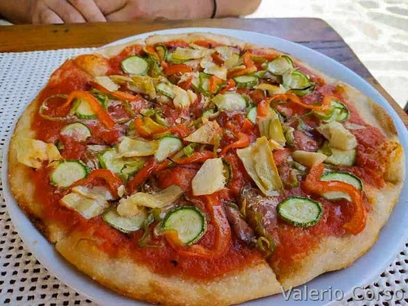 Isola-d-elba - pizza