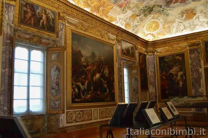 Macerata - sala dell'Eneide dle palazzo Buonaccorsi