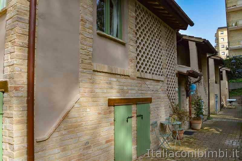 Macerata - scorcio di Villa Ficana