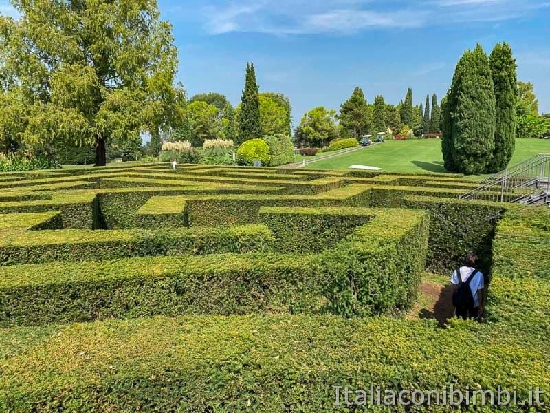 Parco Sigurtà - altro lato del labirinto