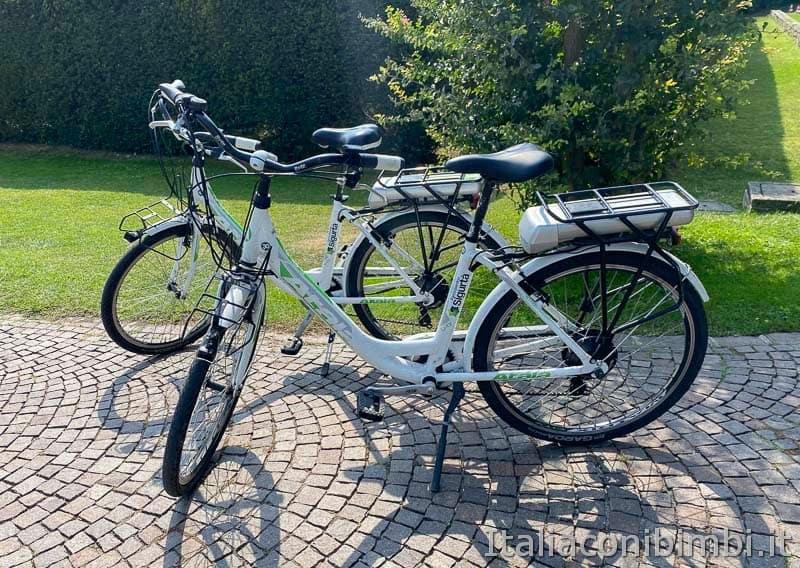 Parco Sigurtà - biciclette elettriche