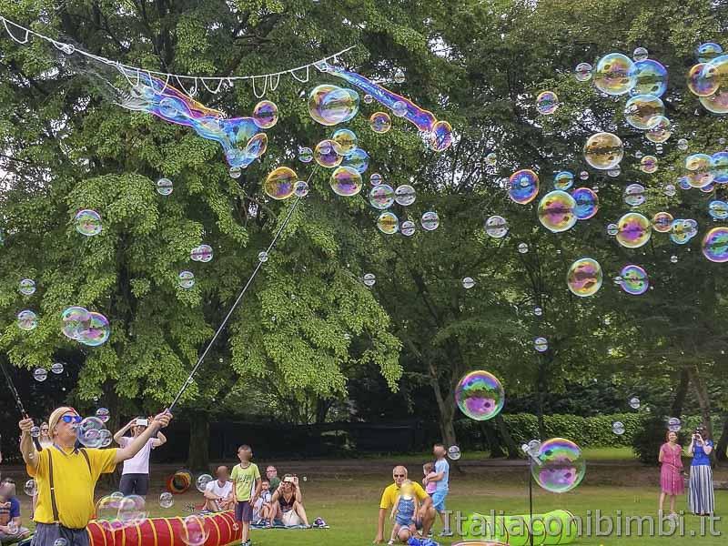 Parco Sigurtà - bolle magiche
