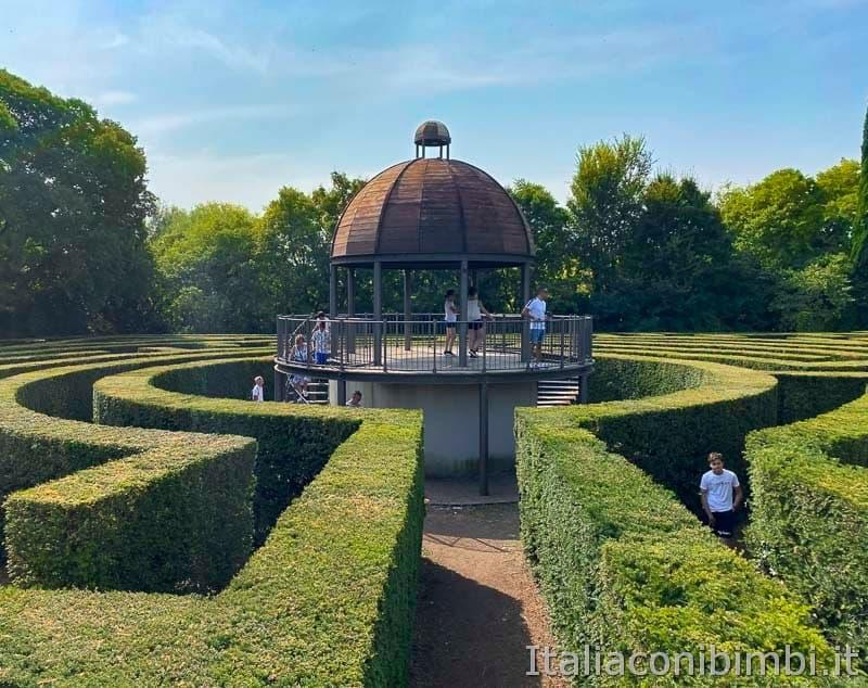 Parco Sigurtà - centro del labirinto