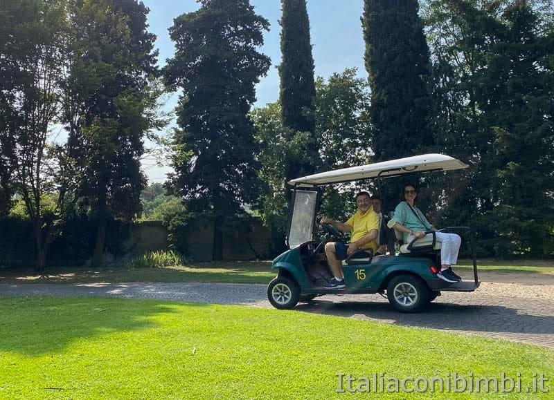 Parco Sigurta - macchinina golf-cart
