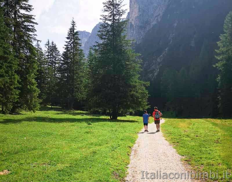 Val Gardena - Vallunga sentiero padre e figlio