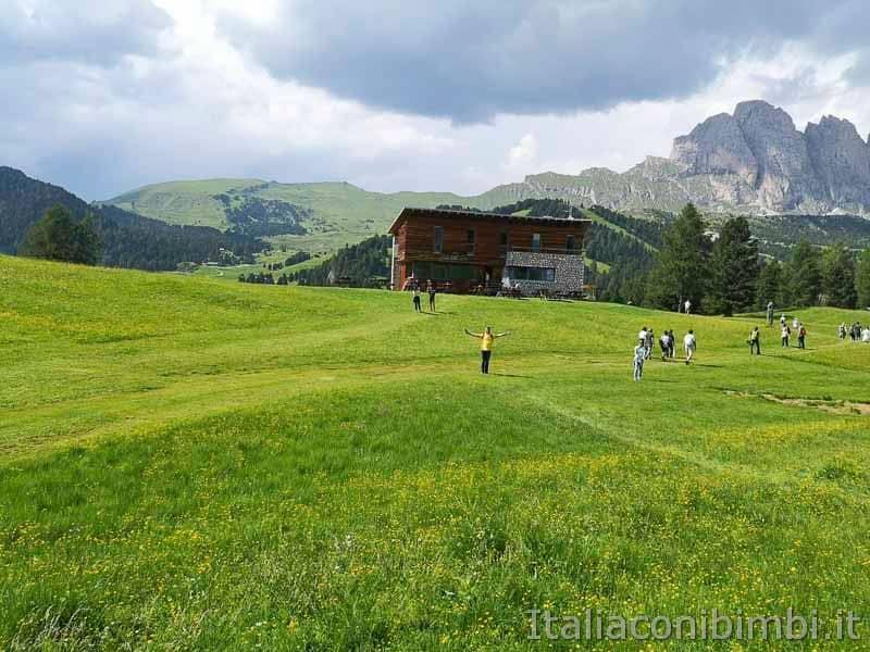 Val Gardena - rifugio Juac esterno