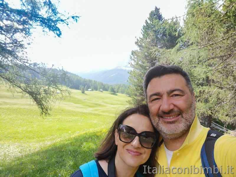 Val Gardena - rifugio Juac passeggiata