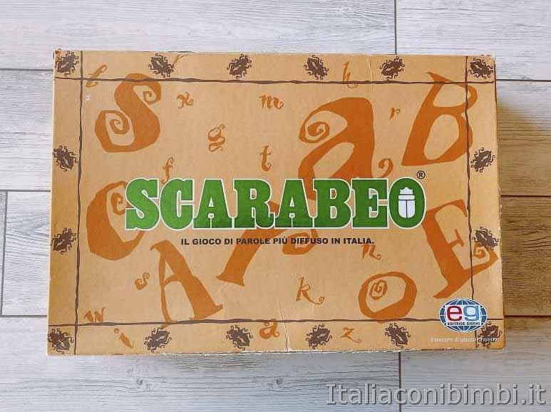 gioco da tavolo - Scarabeo