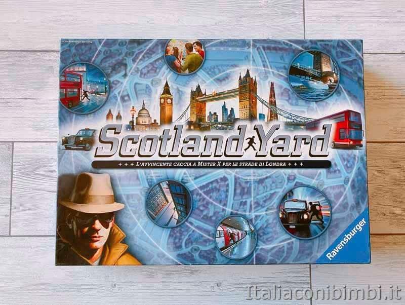 gioco da tavolo - Scotland Yard