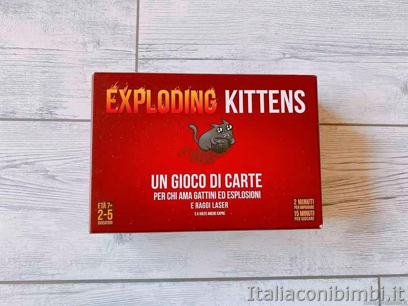 gioco di carte - Exploding Kittens