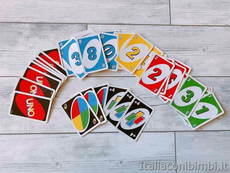 gioco di carte - Uno