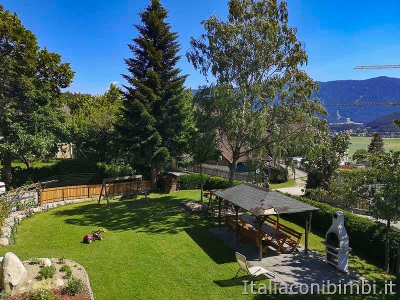 Brunico-appartamenti-Winklerhof - giardino