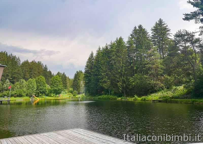 Lago di Issengo - fontana centrale