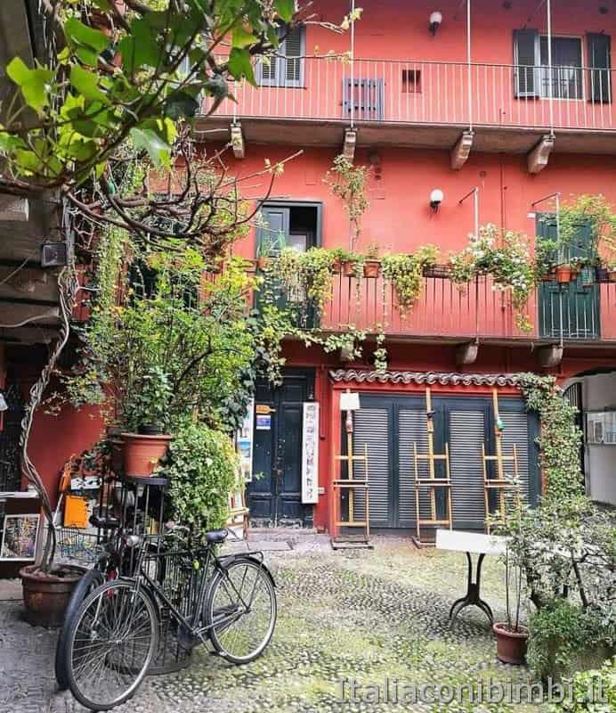 Milano - case sui Navigli