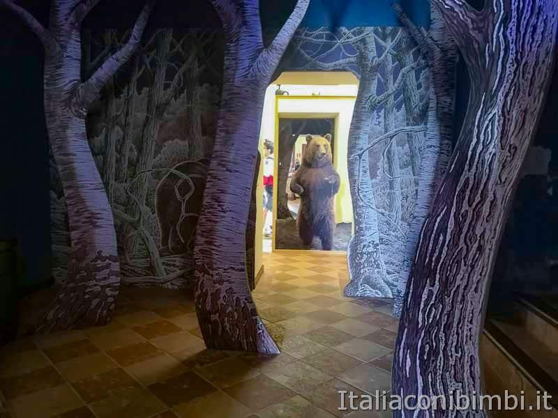 Parco nazionale della Majella - MOM museo dell-orso marsicano interni