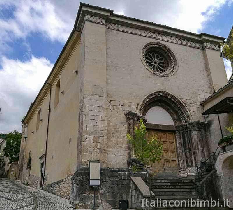 Parco nazionale della Majella - chiesetta di Caramanico