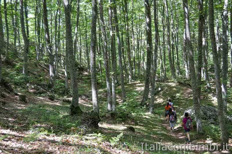 Parco nazionale della Majella - noi sul sentiero Lama Bianca