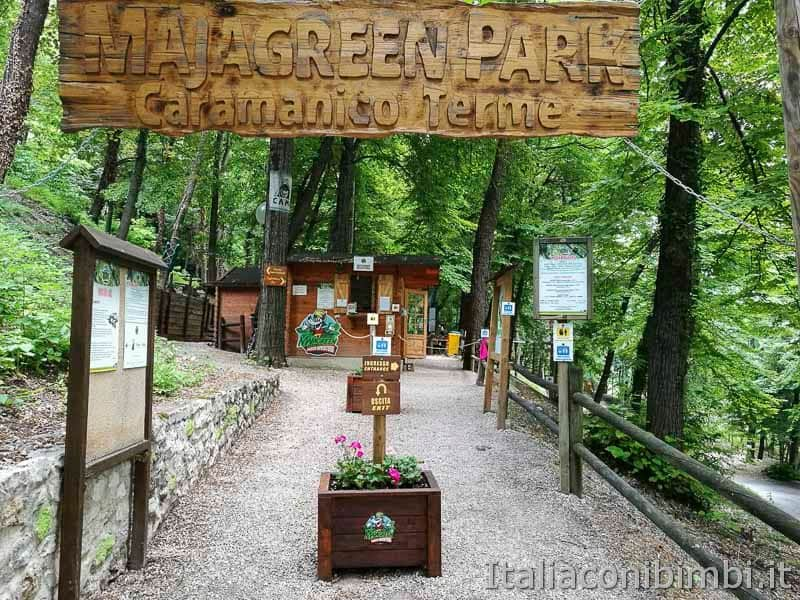 Parco nazionale della Majella - parco avventura Majagreen - Caramanico