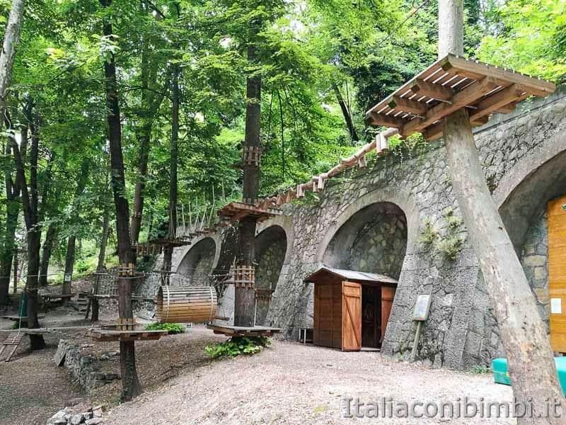 Parco nazionale della Majella - parco avventura di Caramanico