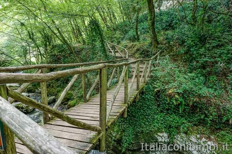 Parco nazionale della Majella - sentiero delle Scalelle