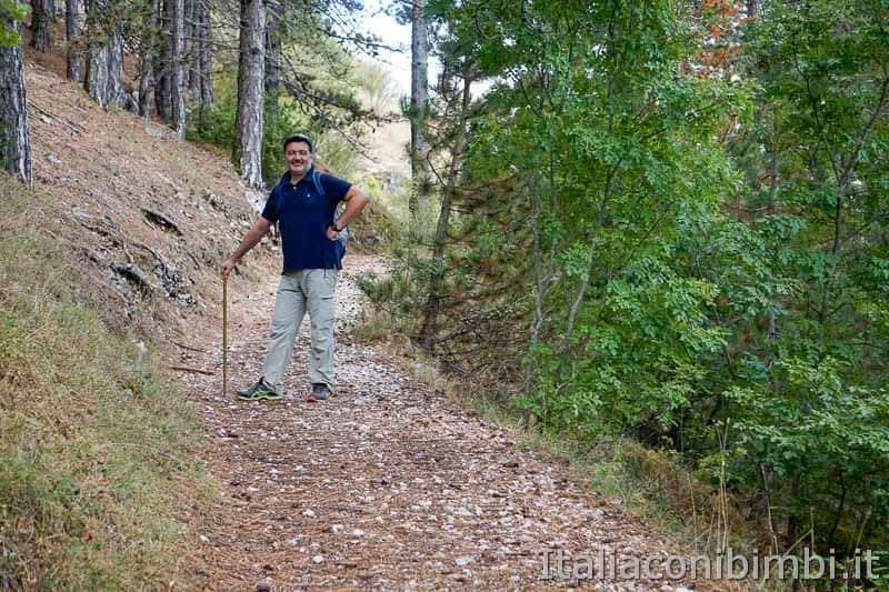 Pescasseroli - passeggiata per Castel Mancino