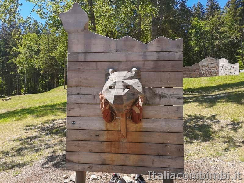 Sarnacli Park - gioco dell'orso