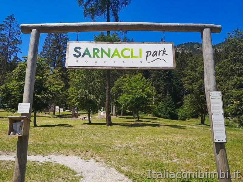 Sarnacli Park - ingresso