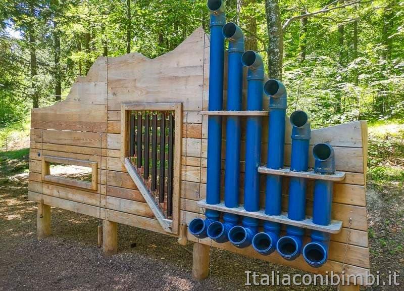 arnacli Park - installazione per suonare