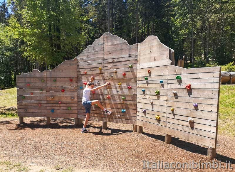 Sarnacli Park - parete d'arrampicata