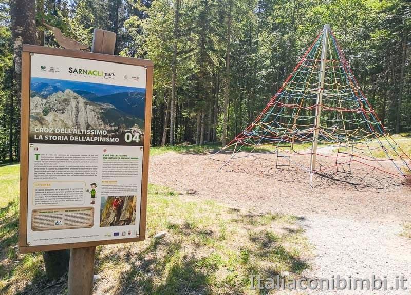 Sarnacli Park - rete per arrampicarsi