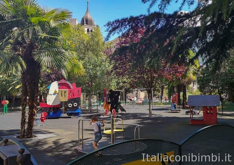 Garda Trentino - Arco - parco giochi