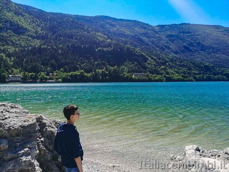 Lago di Molveno - bambino