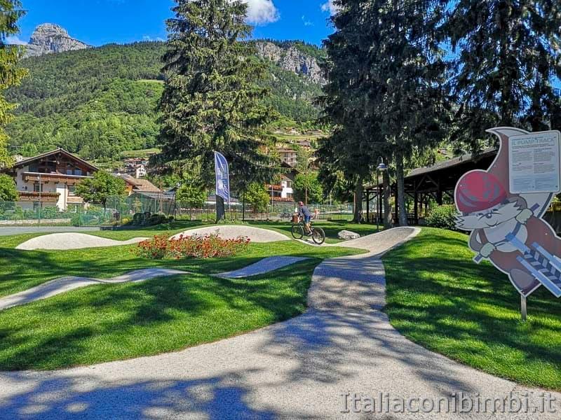 Lago di Molveno - pista per mountain bike
