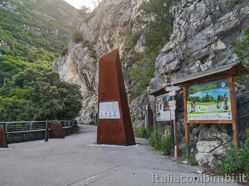 Sentiero del Ponale di Riva del Garda - bivio Pregasina - Valle di Ledro