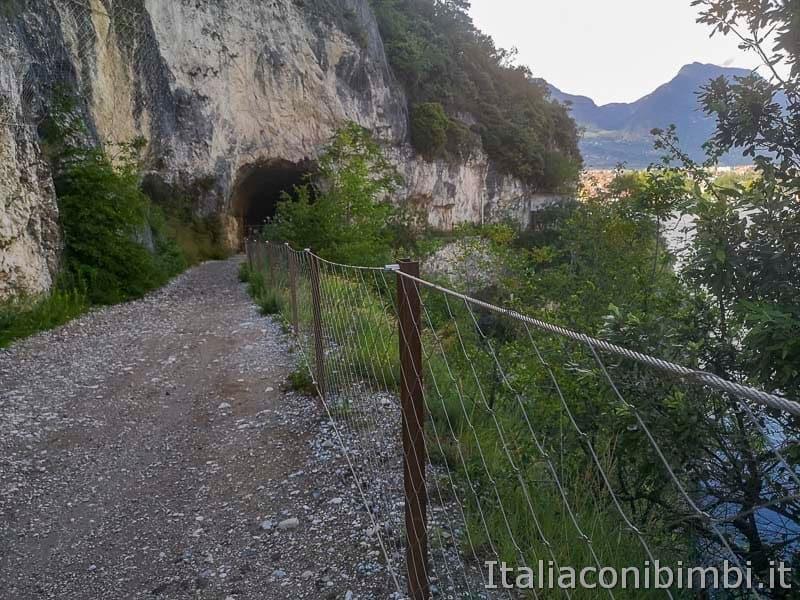 Sentiero del Ponale di Riva del Garda - galleria
