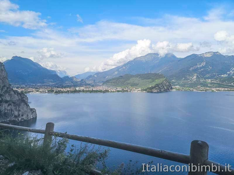 Sentiero del Ponale di Riva del Garda - panorama