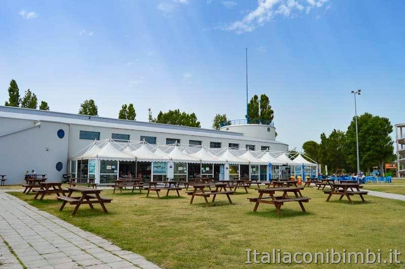 Acquario di Cattolica - ristorante e area picnic