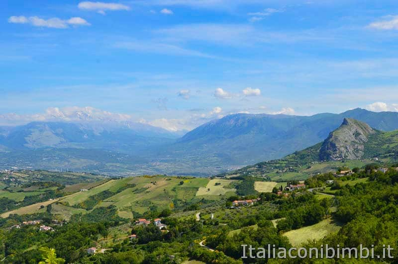 Altopiano del Voltigno - panorama Monte La Queglia