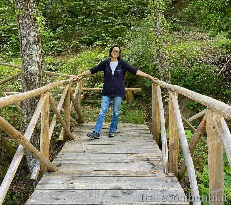 Anello Fleno San Gregorio - io sul Ponte Tyeta Valle Sorbo