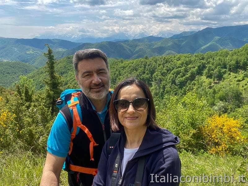 Anello Fleno San Gregorio - noi sulla passeggiata