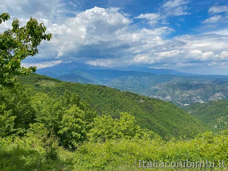 San Gregorio - panorama