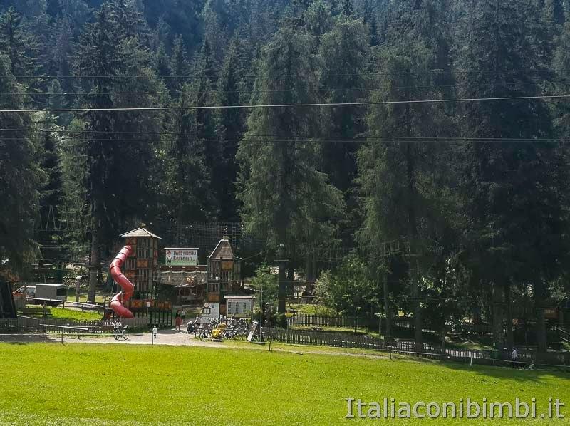 Ciclabile San Candido Lienz - Sillian parco degli gnomi