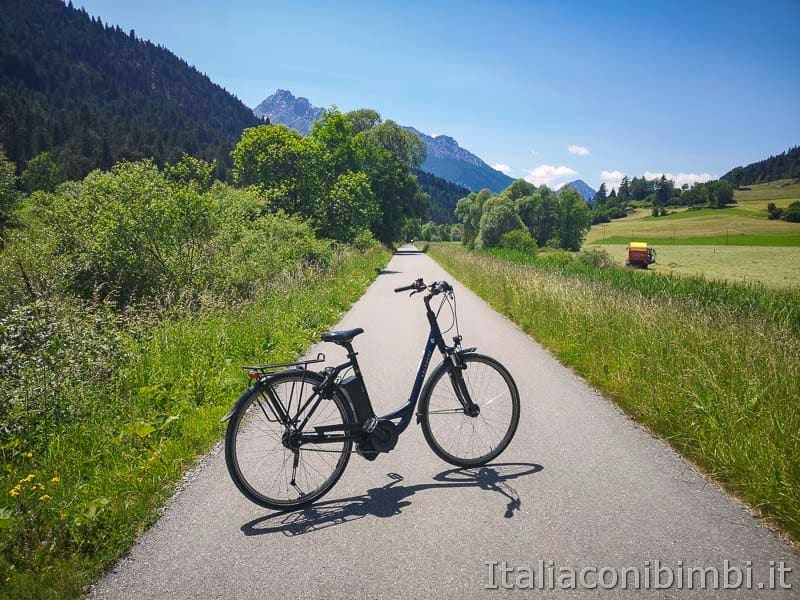 Ciclabile San Candido Lienz - bicicletta