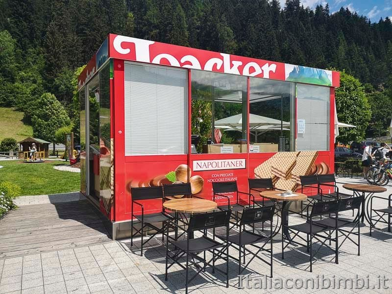Ciclabile San Candido Lienz - fabbrica Loacker bar