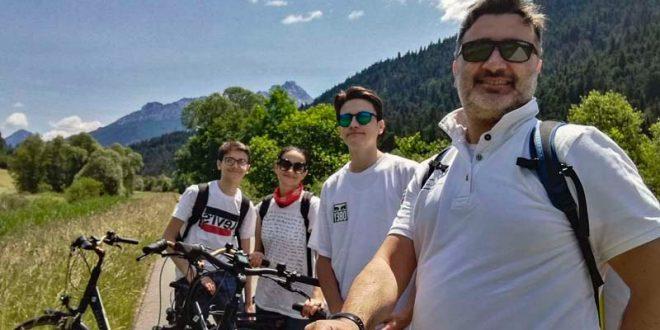 Ciclabile San Candido Lienz - la nostra famiglia