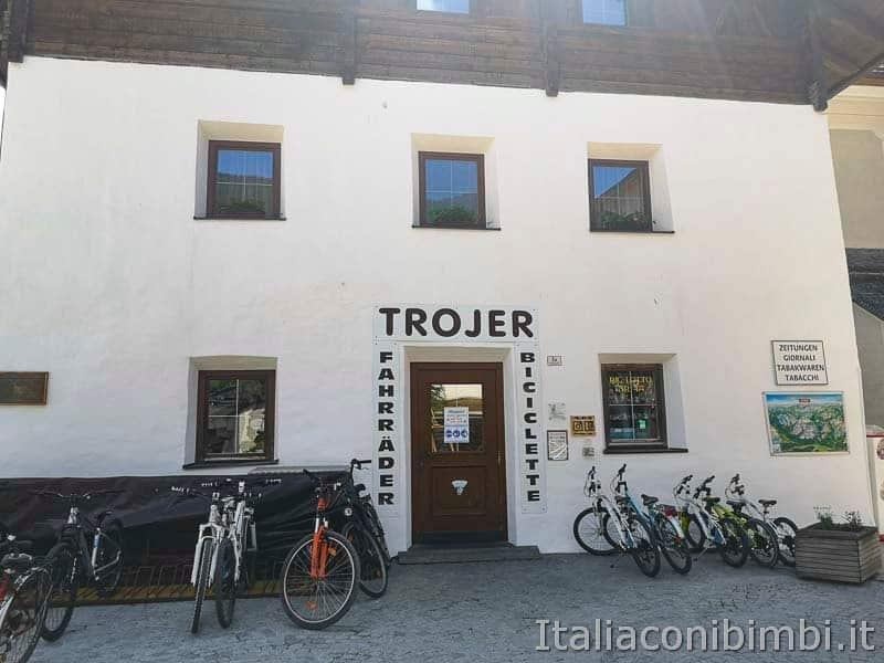 Ciclabile San Candido Lienz - noleggio biciclette Trojer