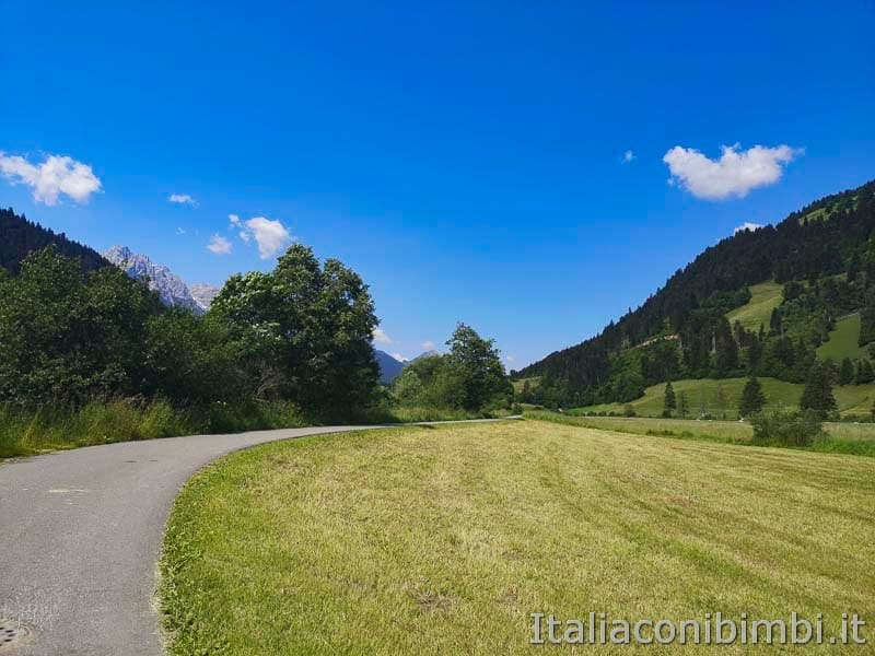Ciclabile San Candido Lienz - percorso