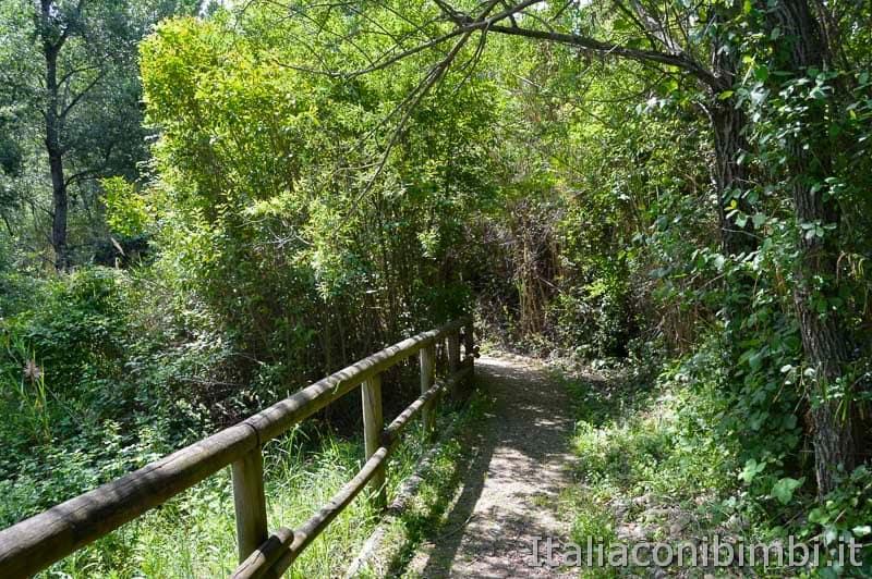 Riserva naturale Lago di Penne - passeggiata