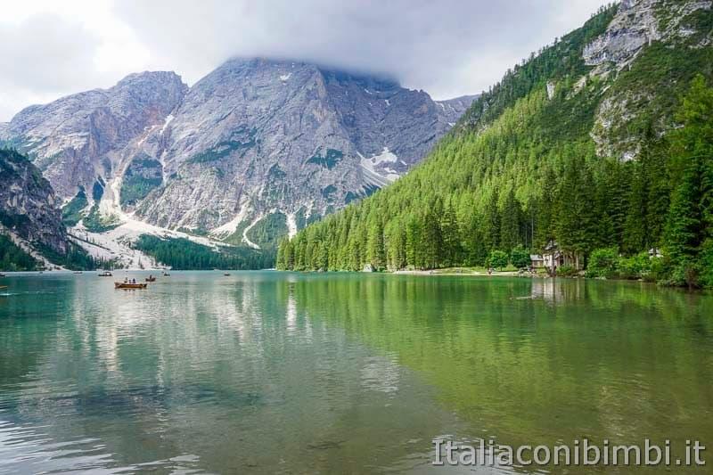 Lago di Braies - barchette