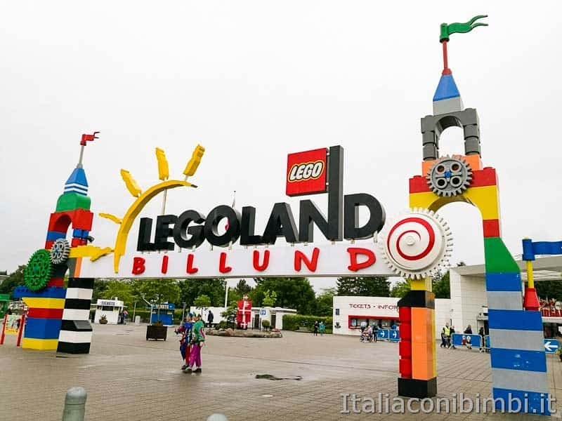 Legoland Billund - ingresso
